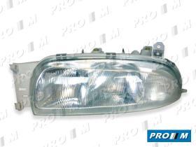 Bosch 0301049004 - Óptica Ford Fiesta IV del. izq. 95-99 eléc. H7+H1