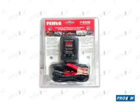 Ferve F2106 - Cargador automático de batería