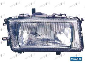 Pro//M Iluminación 11120102 - Faro izquierdo H1+H1 Alfa Romeo 145 94-01 / 146 95-01