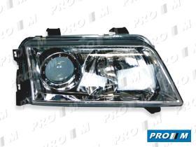 Pro//M Iluminación 11120502 - Faro izquierdo-H4 Audi A4