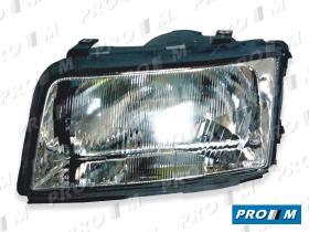 Pro//M Iluminación 11121101 - Faro derecho H7+H7 Audi A4