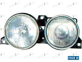 Pro//M Iluminación 11200306 - Faro izquierdo H1+H1 Bmw Serie 3