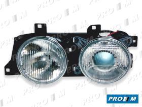 Pro//M Iluminación 11202105 - Faro derecho H1 Bmw Serie 5 E34-Touring