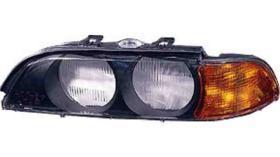Pro//M Iluminación 11202211 - Faro derecho H1+H1 Bmw Serie 5 E34 88-95