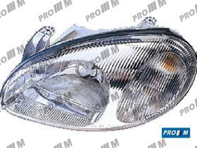 Pro//M Iluminación 11230503 - Faro derecho H4 Daewoo Lanos