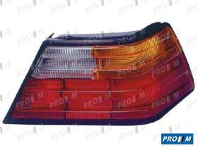 Pro//M Iluminación 16501011 - Tulipa trasera izquierda Mercedes W124 85-93