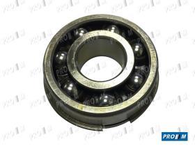 Pro//M Rodamientos 8037 - Rodamiento polea bomba de agua Seat 124 1500