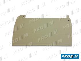 Pro//M Carrocería 01011210 - Panel de puerta trasero derecho con pulsador Seat 124