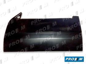 Pro//M Carrocería 01014017 - Panel de puerta delantero izquierdo Peugeot 306 97-