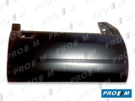 Pro//M Carrocería 01024075 - Panel de puerta delantero derecho Peugeot 306 97-