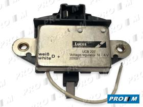 Lucas UCB227 - Regulador alternador PARIS RONE VALEO