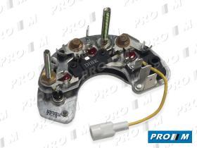 Magneti Marelli 000084499010 - Rectificador de alternador 6 diodos
