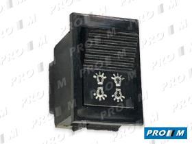 MAI MA26 - Interruptor luces 6 terminales 23x36mm