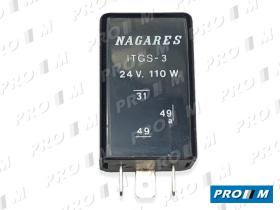 Nagares MFL22 - INTER.12 V.C/DETECCION LAMP.FUNDIDA
