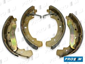Necto N1356 - Juego zapatas de freno Ford Transit rueda gemela