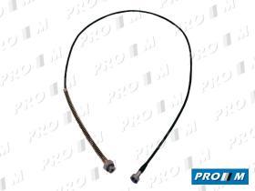 Pujol 801352 - Cable velocimetro Seat 4 PUERTAS 2605mm