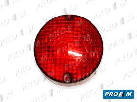 Rinder 121111 - Tulipa redonda roja 68mm
