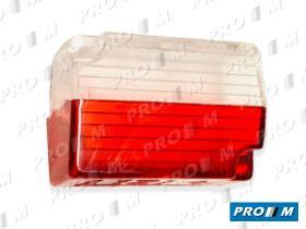 Rinder 122911 - Tulipa rojo-blanco colgante 55X40mm