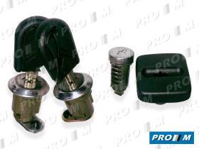 Valeo 251147 - Juego 2 cerraduras + 2 bombillos Citroen AX