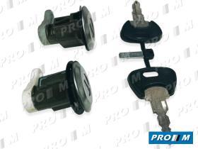 Valeo 252060 - Juego de bombines de puerta Peugeot 106 91-96