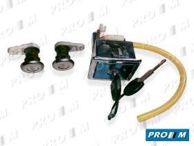 Valeo 252084 - Juego de cerraduras bombines Renault Super 5 3 puertas 84-96