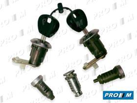 Valeo 252148 - Juego bombines de puerta Citroen Bx 09/82-12/94