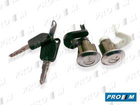 Valeo 252151 - Juego de cerraduras Renault 21 05/89-08/95