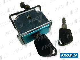 Valeo 252201 - Cerradura de maletero Peugeot 405 07/92-10/95