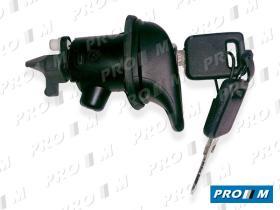 Valeo 252257 - Cerradura de portón mecánica Seat Ibiza II 02/93-05/94