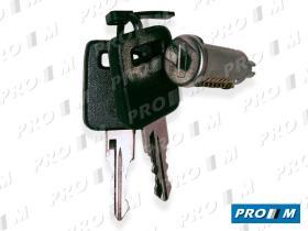 Valeo 252313 - Bombillo de puerta con llave Seat Panda izquierdo