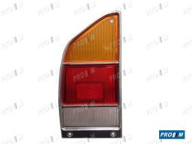 Iluminación (hasta '90) 0086000064 - Piloto trasero izquierdo marco cromado Citroen Gs