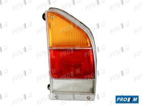 Iluminación (hasta '90) 0086010063 - Piloto trasero derecho marco cromado Citroen GS