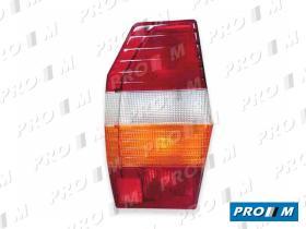 Iluminación (hasta '90) 0089420061 - Piloto trasero bicolor Ayu furgoneta