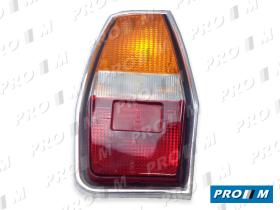 Iluminación (hasta '90) 1322070069 - Piloto delantero izquierdo blanco cromo Simca 1200