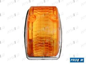 Iluminación 0122011042 - Piloto lateral universal rojo ovalado 95x38