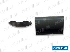 Accesorios V112SA - Moldura de puerta negra Renault 4 20mm