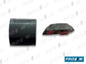 Accesorios PG001R - Moldura negra autoadhesiva 44mm universal