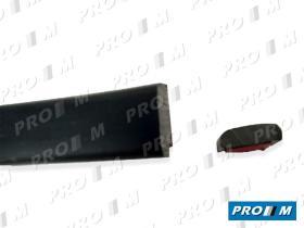 Accesorios PG002R - Moldura negra autoadhesiva 44mm universal