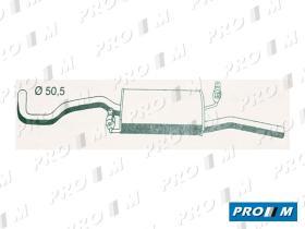Fonos 610387 - Silencioso trsero Seat Ibiza II 1.8 2.0