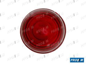 Prom Iluminación 20041R - Tulipa piloto rosca universal rojo standar