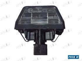 Iluminación (hasta '90) 0014200075 - Piloto matrícula Renault 11-21-Nevada