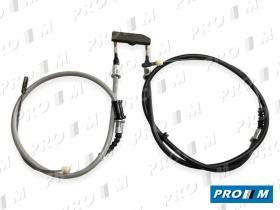 CABLES DE MANDO 07025 - Cable freno Opel Kadett E (2-4 puertas) 86->