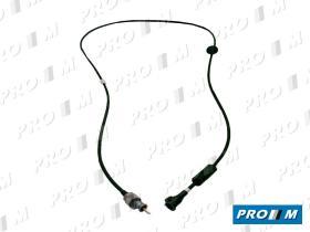 Spj 802518 - Cable de cuentakilómetros Seat 127 LS 752mm