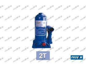 JBM 50819 - Piston cric hidráulico botella 2 t