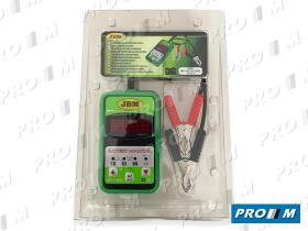 JBM 51816 - Comprobador de baterias digital
