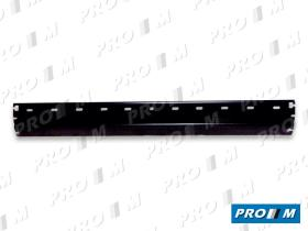 Ford 25401512 - Paragolpes trasero negro con agujeros Ford Fiesta 84