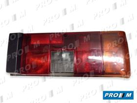 Iluminación (hasta '90) 42511 - Piloto trasero derecho Fiat Uno Turbo (rayas rojas) 89-94