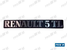 Renault Clásico R1834 - Anagrama Renault 5 pegado