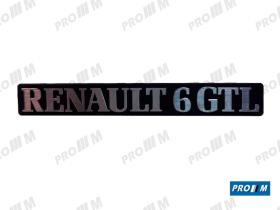 Renault Clásico R1839 - Panel de puerta trasero derecho Renault 6