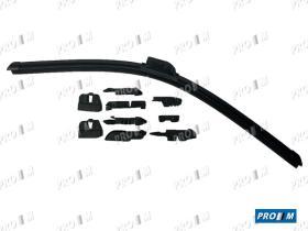 Accesorios 52404 - Escobilla limpiaparabrisas silicona 430mm